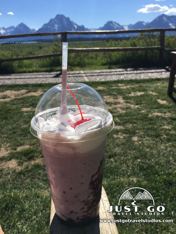 Huckleberry Shakes at the Jackson Lake Lodge