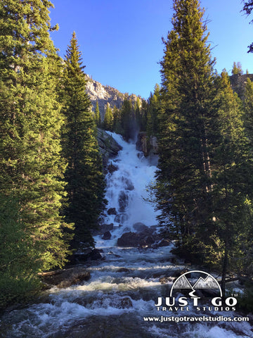 Hidden Falls in Grand Teton National Park
