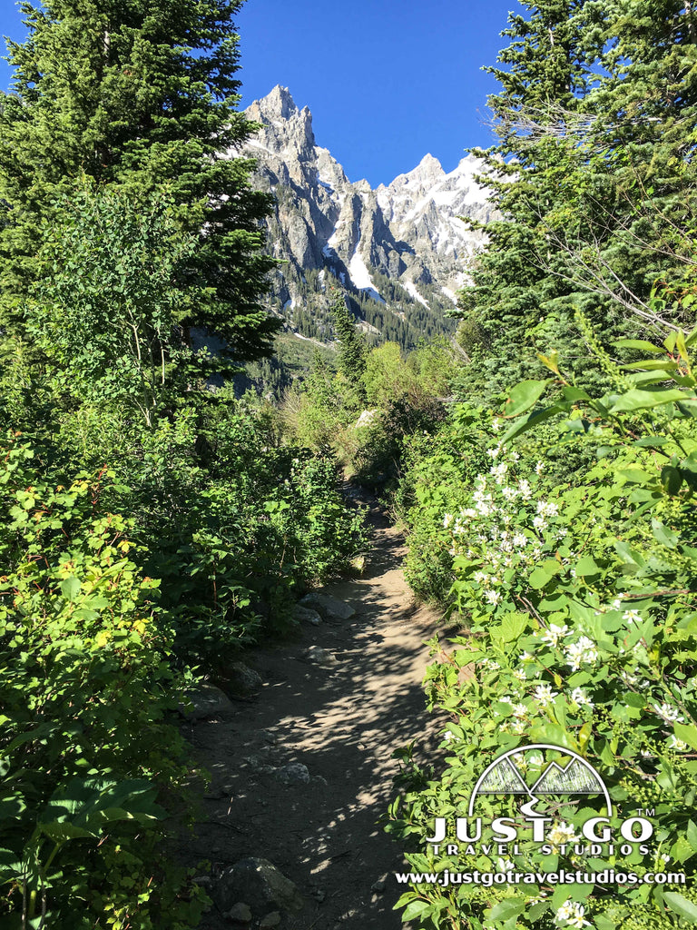 Hike up to Inspiration Point in Grand Teton National Park