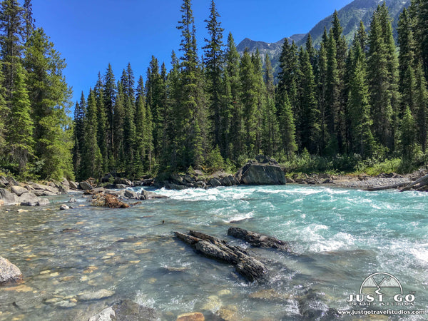 Kootenay National Park numa creek and numa falls