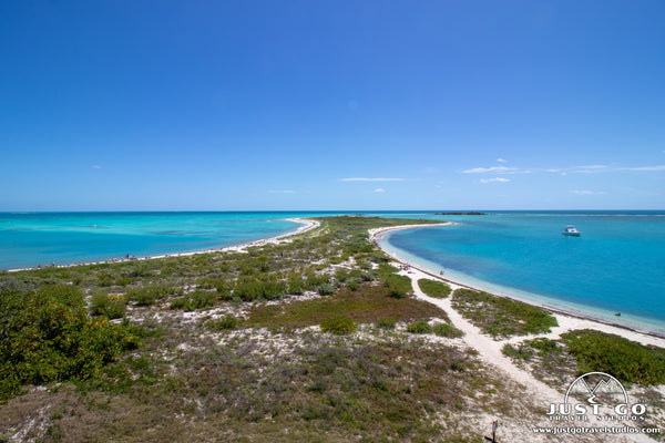 land bridge in dry tortugas national park