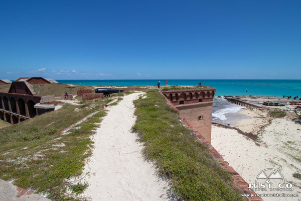on the top of fort jefferson