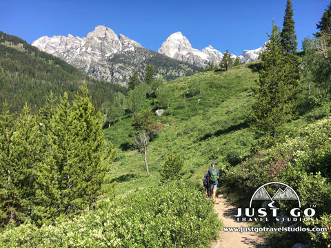 Hiking on the Beaver Creek Trail in Grand Teton National Park