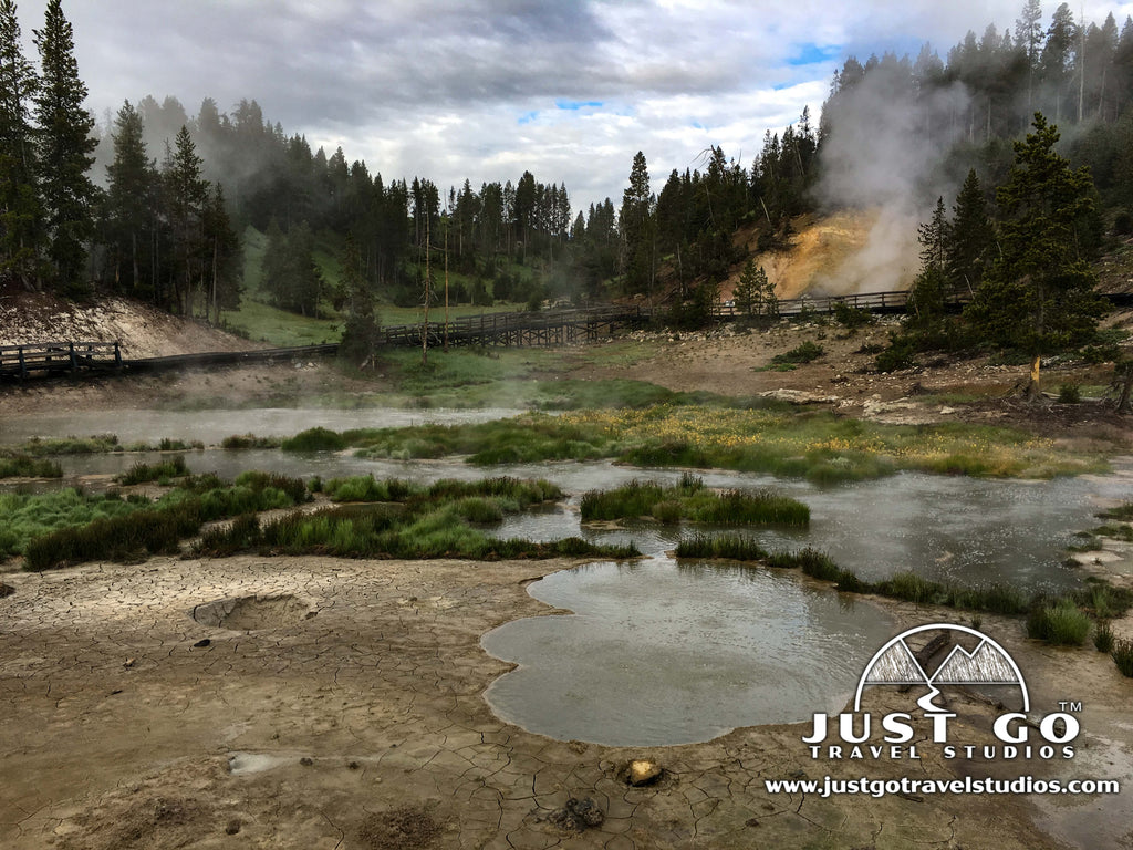 Mud Volcano Yellowstone National Park