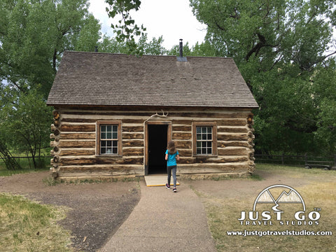 Maltese Cross Cabin in Theodore Roosevelt National Park