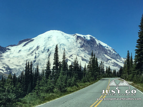 Sunrise Road in Mount Rainier National Park