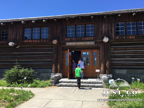 Sunrise Visitor Center in Mount Rainier National Park