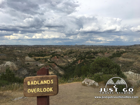 Badlands Overlook in Theodore Roosevelt National Park