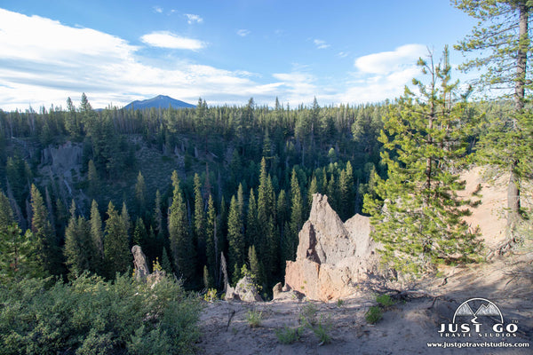 Mount Scott and the Pinnacles Trail in Crater Lake National Park