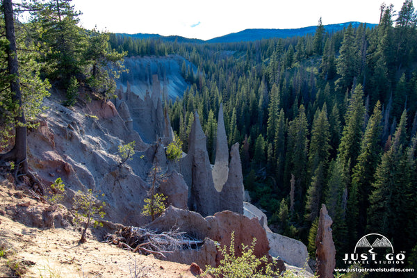 Pinnacles in Crater Lake National Park