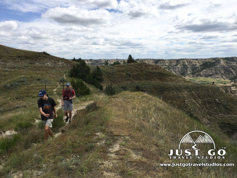 Hiking in Theodore Roosevelt National Park - Caprock Coulee Trail