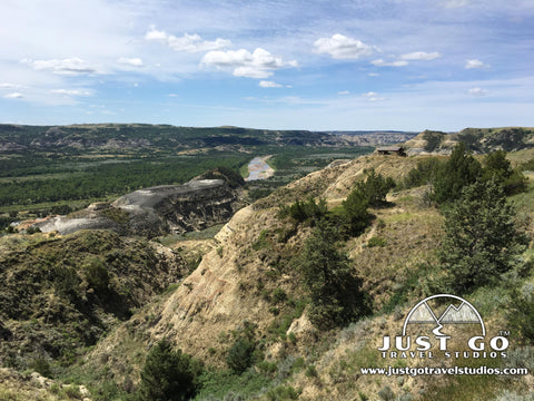 The Little Missouri River from Theodore Roosevelt National Park