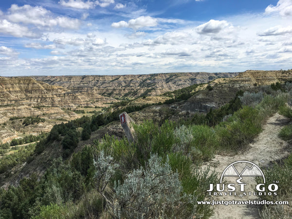 Caprock Coulee Trail in Theodore Roosevelt National Park