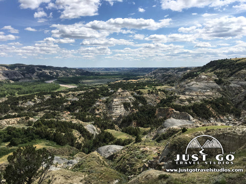 Sperati Point via the Achenbach Trail in Theodore Roosevelt National Park