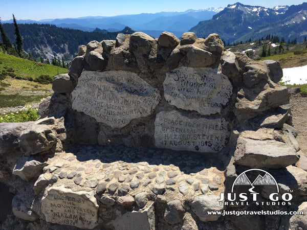 Stevens Van Trump Historic Monument in Mount Rainier National Park