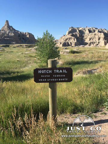 Notch Trail Sign