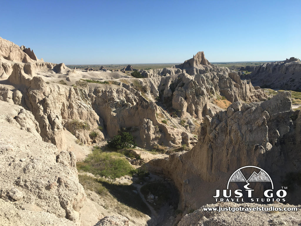 The Notch Trail in Badlands National Park