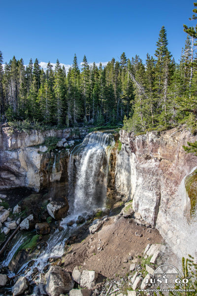 Paulina Falls in Newberry Volcanic National Monument