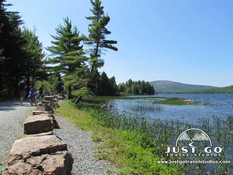 Biking the Carriage Roads in Acadia National Park