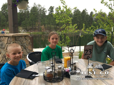 dining in Custer State Park