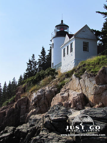 Bass Harbor Lighthouse in Acadia National Park