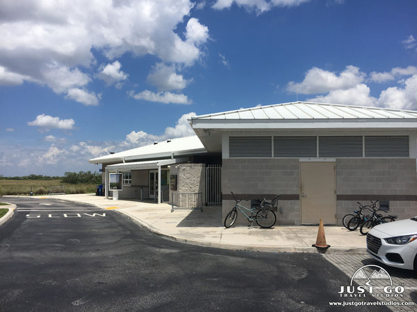 Shark Valley Visitor Center in Everglades National Park
