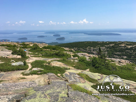 Views from Cadillac Mountain in Acadia National Park