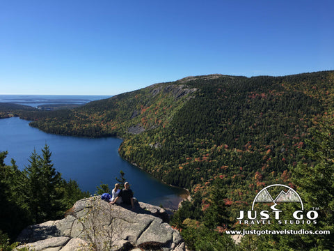 A view from the North Bubble in Acadia National Park