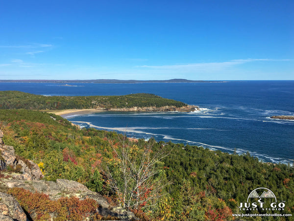 A view from Gorham Mountain in Acadia National Park