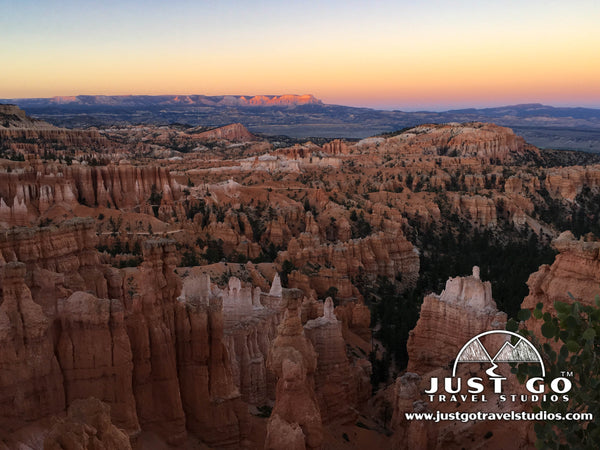 Sunset from Sunset Point in Bryce Canyon National Park