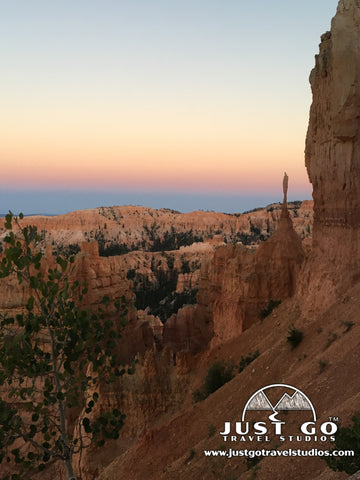 Sunset in Bryce Canyon National Park from Sunset Point