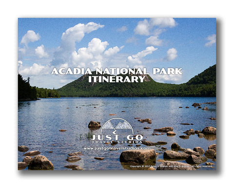 Acadia National Park Itinerary from Just Go Travel Studios