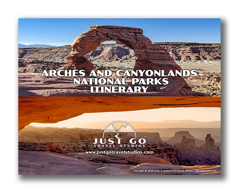 Canyonlands and Arches National Park Itinerary