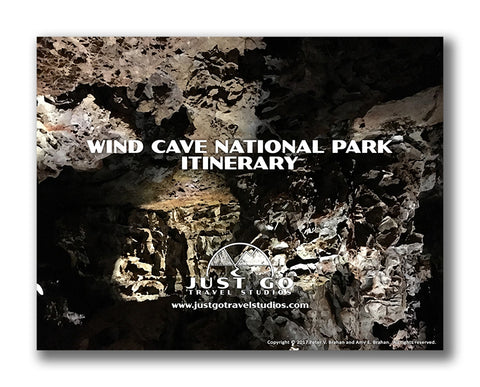 Wind Cave national Park Itinerary from Just Go Travel Studios