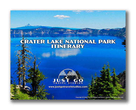 Crater Lake National Park Itinerary