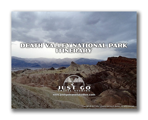 Death Valley National Park itinerary