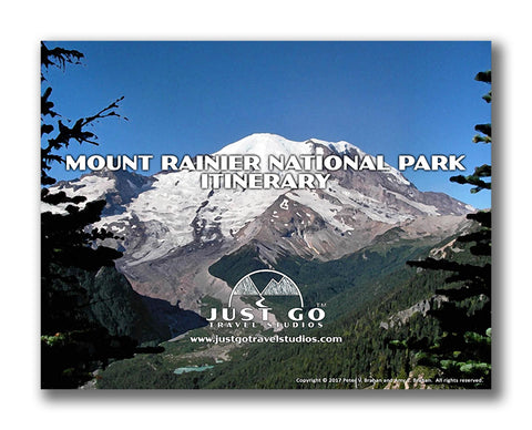 Mount Rainier National Park itinerary