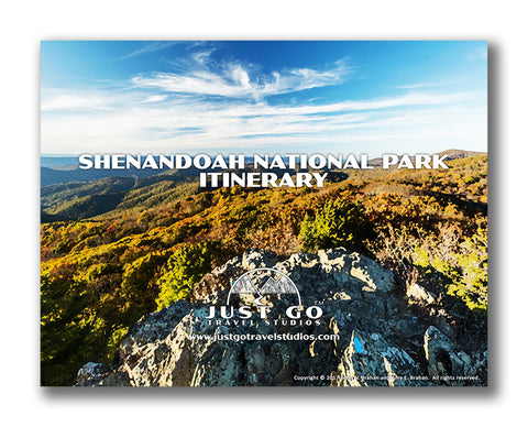 Shenandoah national park itinerary