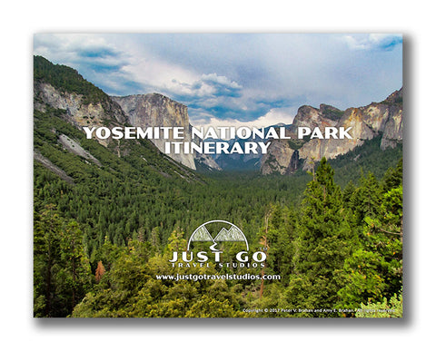 Yosemite National Park Itinerary