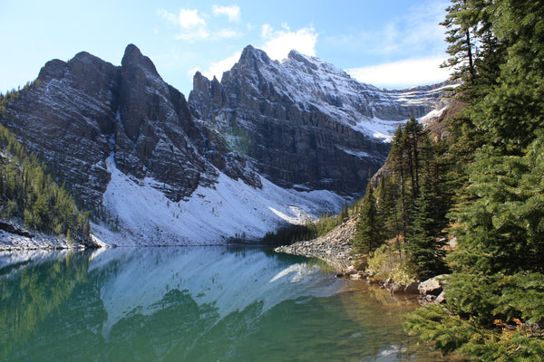 Lake Agnes in Banff National Park