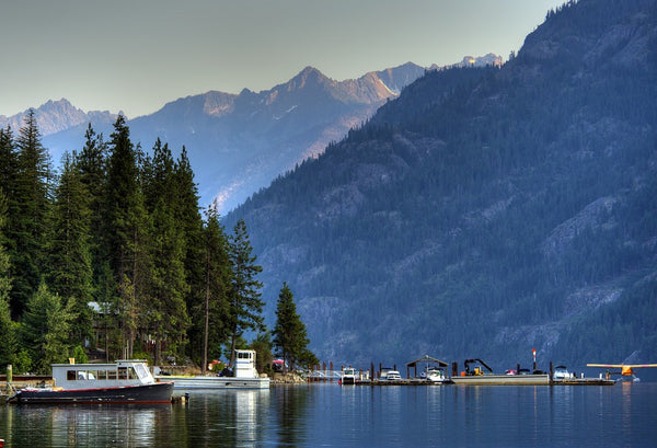 Lake Chelan, North Cascades National Park