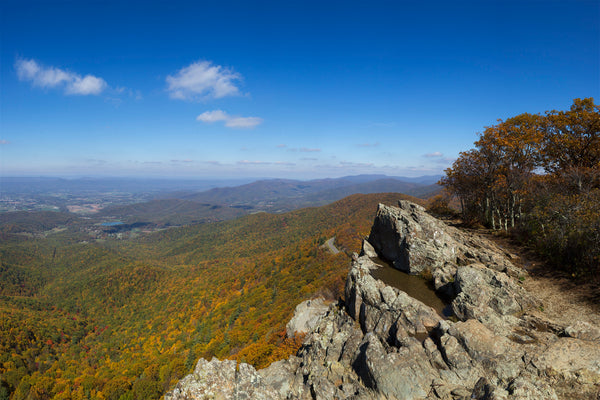 Little Stony Man peak in Shenandoah National Park