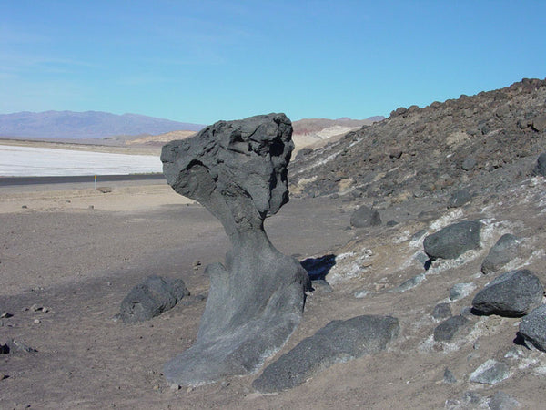 Mushroom Rock in Death Valley National Park