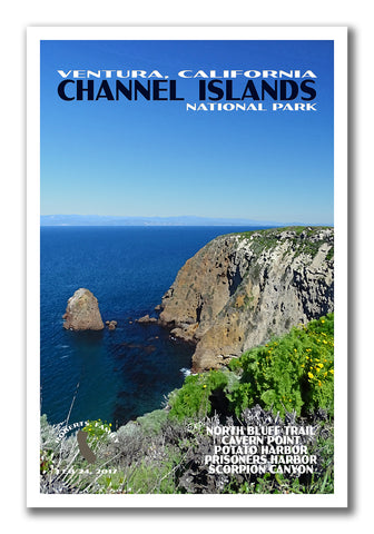 Channel Islands National Park Poster