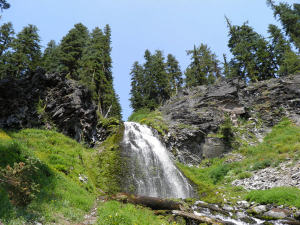 Plaikni Falls in Crater Lake National Park