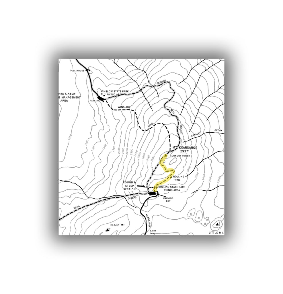 Rollins Trail Map