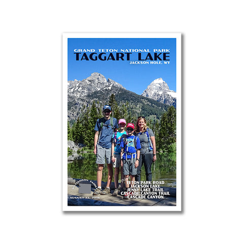 Personalized Grand Teton National Park Poster
