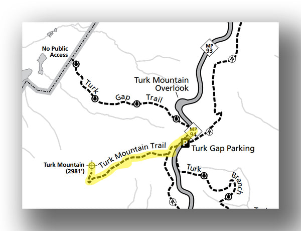 Turk Mountain Loop in Shenandoah National Park