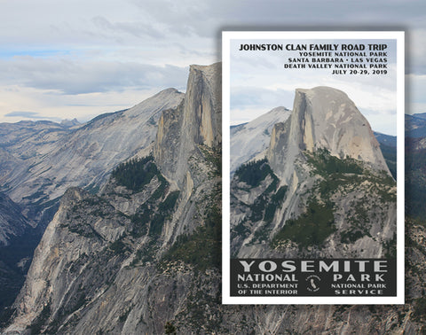 Custom National Park Posters