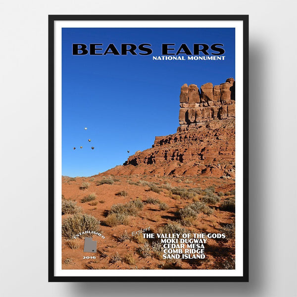 Bears Ears National Monument Poster